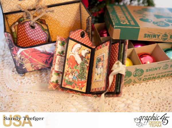 Mantle Tag Box, St Nicholas, By Sandy Trefger, Product by Graphic 45, Product by Xyron, Product by Petaloo, Product by My Creative Spirit, Photo 005
