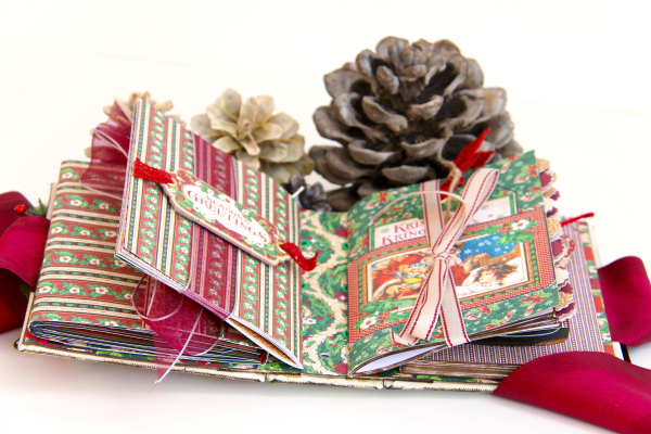 December Daily Album St. Nicholas Petaloo and Xyron Blog Hop by Marina Blaukitchen Product by Graphic 45 photo 28