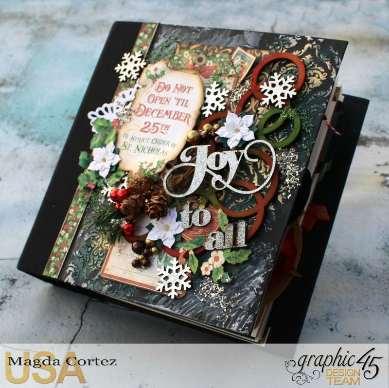 Joy To All-Christmas Daily-St. Nicholas-By Magda Cortez-Product By Graphic 45-Photo 01 of 11