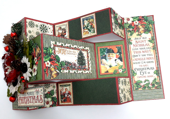 Merry Christmas Card, St Nicholas, by Einat Kessler, product by Graphic 45 photo 2
