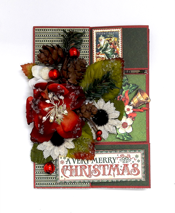 Merry Christmas Card, St Nicholas, by Einat Kessler, product by Graphic 45 photo 5
