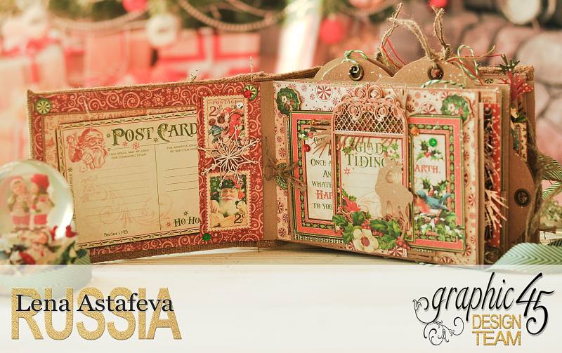 December Daily- St.Nicholas-by Len Astafeva-products Graphic 45 -113