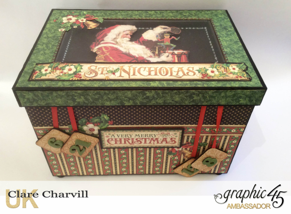 St Nicholas Advent Box 1 Clare Charvill Graphic 45