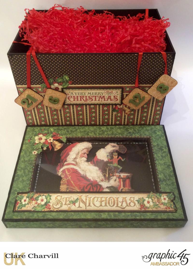 St Nicholas Advent Box 6 Clare Charvill Graphic 45