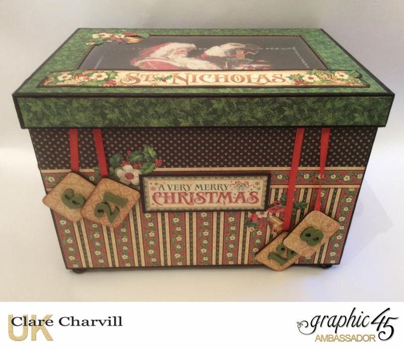 St Nicholas Advent Box 2 Clare Charvill Graphic 45