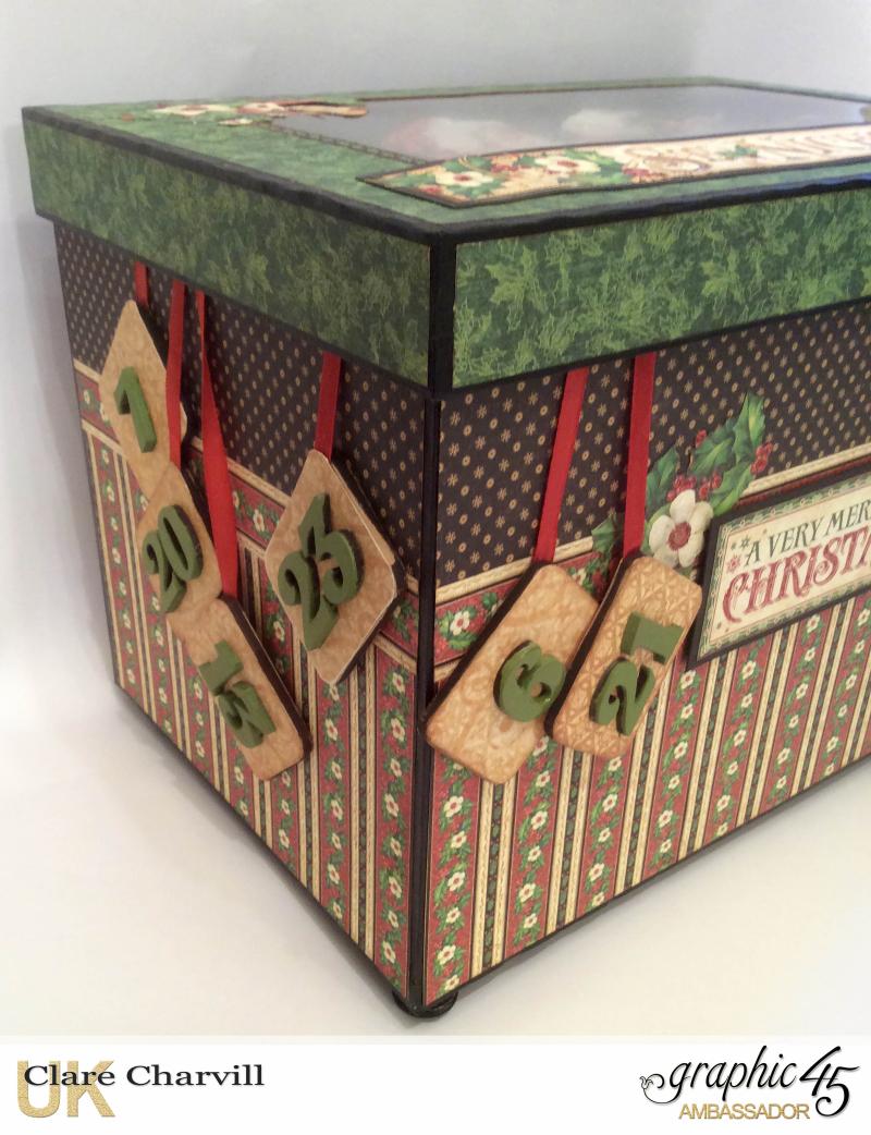 St Nicholas Advent Box 4 Clare Charvill Graphic 45