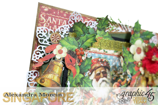 St Nicholas Card, Tutorial by Alexandra Morein, Product by Graphic 45, Photo 2