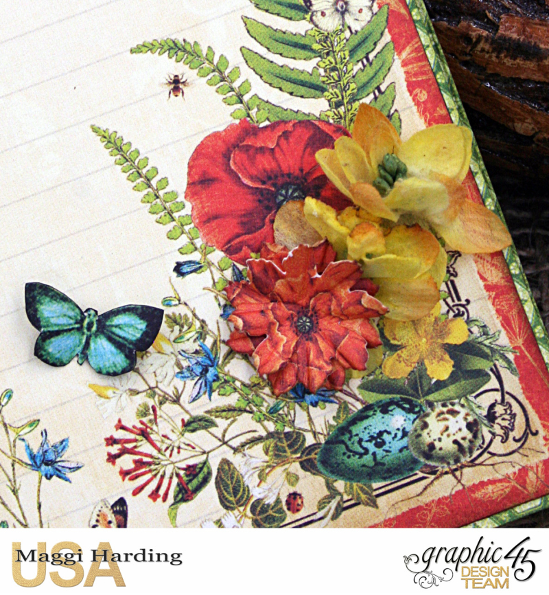 Post-it Notepad, Nature Sketchbook, Tutorial Maggi Harding, Graphic 45  (09)