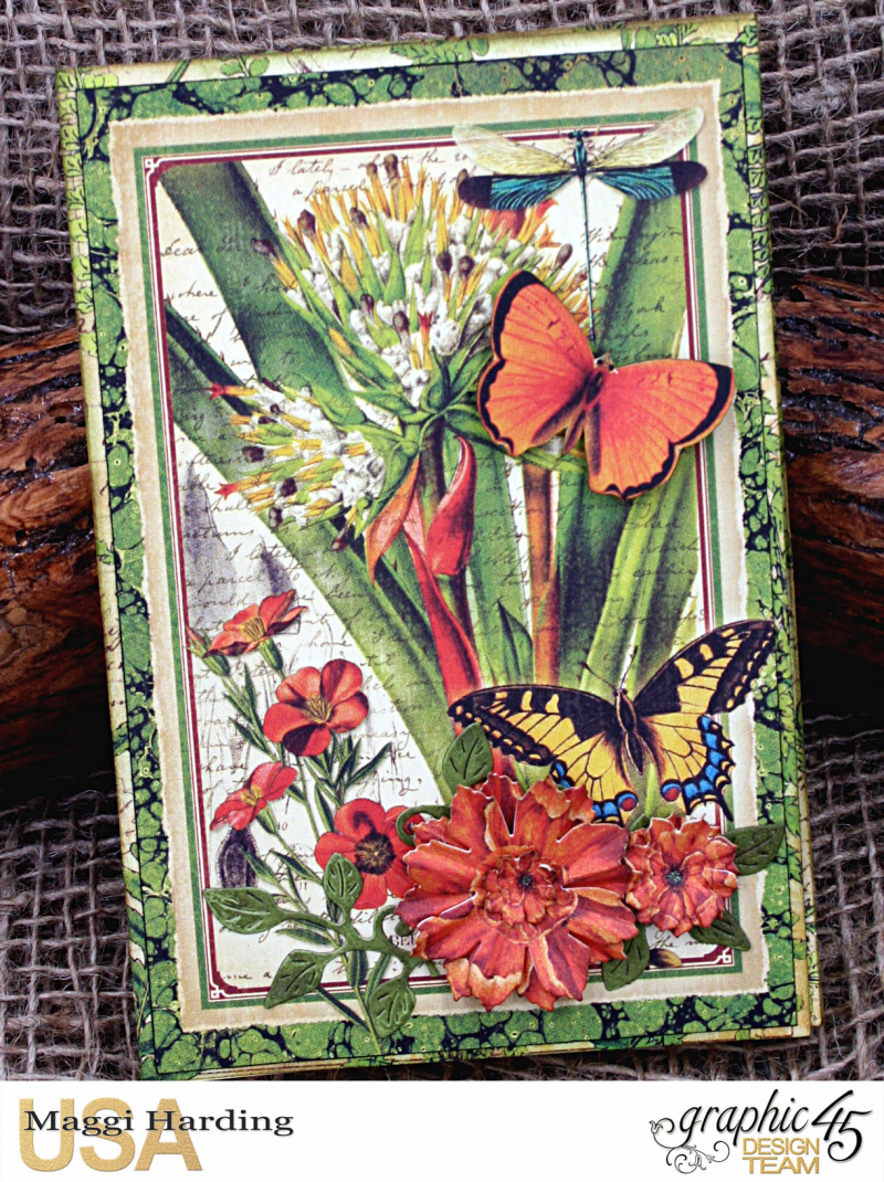 Post-it Notepad, Nature Sketchbook, Tutorial Maggi Harding, Graphic 45  (02)