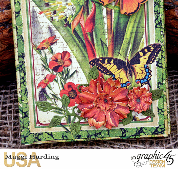 Post-it Notepad, Nature Sketchbook, Tutorial Maggi Harding, Graphic 45  (05)
