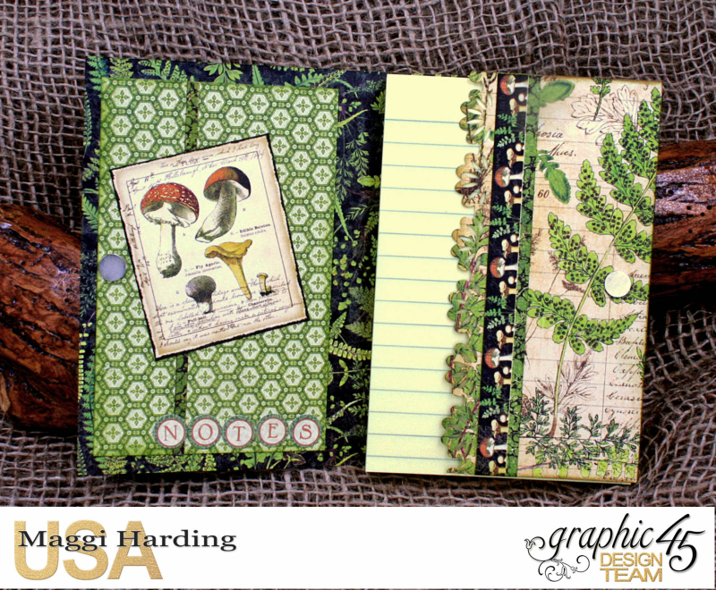 Post-it Notepad, Nature Sketchbook, Tutorial Maggi Harding, Graphic 45  (04)