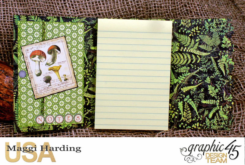 Post-it Notepad, Nature Sketchbook, Tutorial Maggi Harding, Graphic 45  (03)