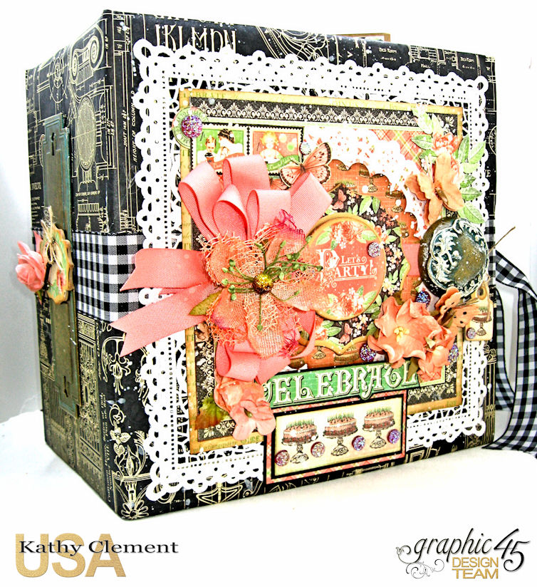 Birthdays Holidays and Special Days Card Planner,  Place in Time, by Kathy Clement, Product by Graphic 45, Photo 1
