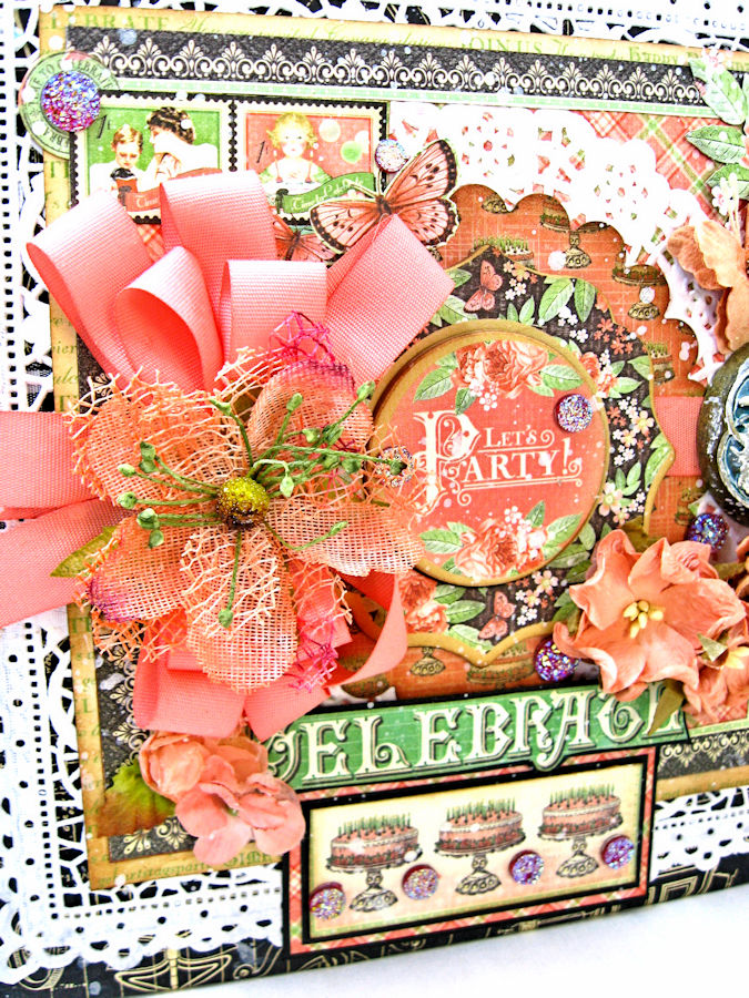 Birthdays Holidays and Special Days Card Planner,  Place in Time, by Kathy Clement, Product by Graphic 45, Photo 3