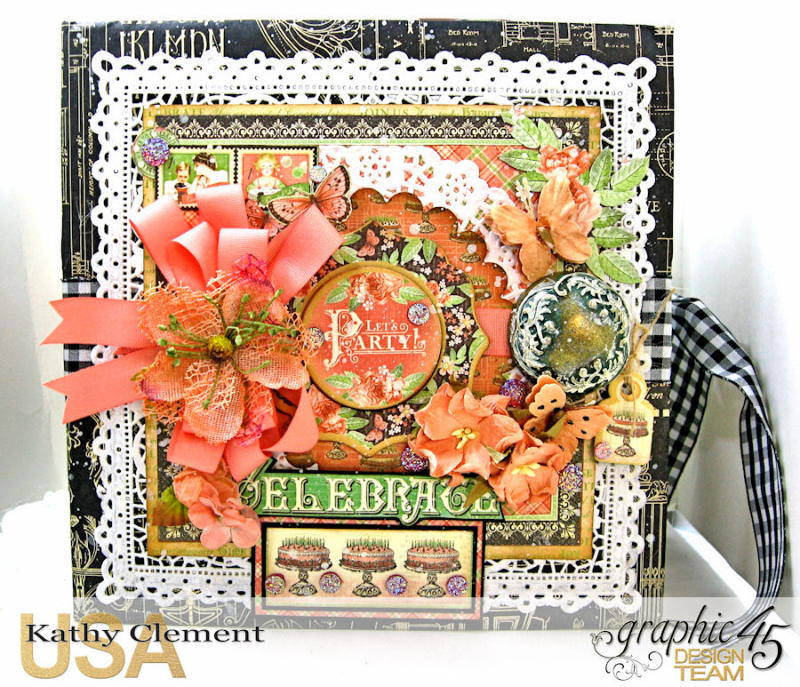 Birthdays Holidays and Special Days Card Planner,  Place in Time, by Kathy Clement, Product by Graphic 45, Photo 2