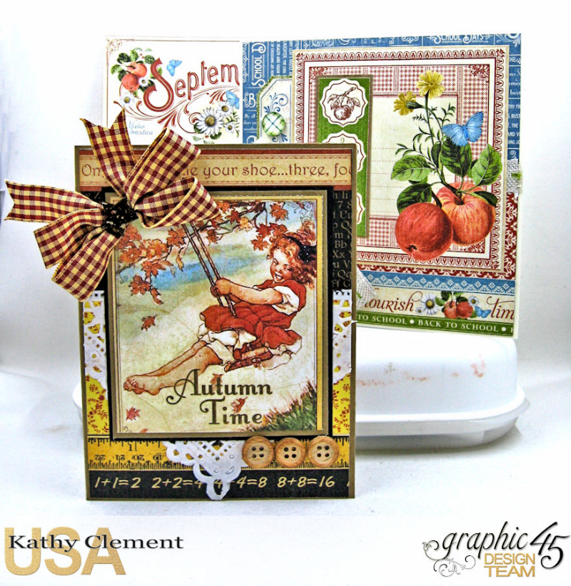 Birthdays, Holdiays and Special Days 2017 Card Planner, Place in Time, Time to Flourish, Time to Celebrate, by Kathy Clement, Product by Graphic 45, Photo 9