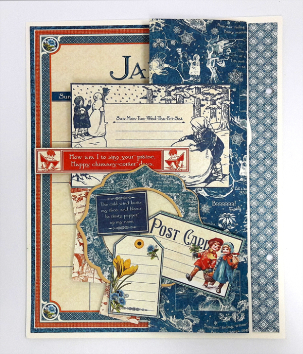 Perpetual Planner, Children's Hour, by Einat Kessler, product by Graphic 45, photo 6