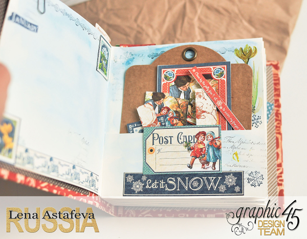 Planner - Children's Hour- Lena Astafeva-products by Graphic 45-15