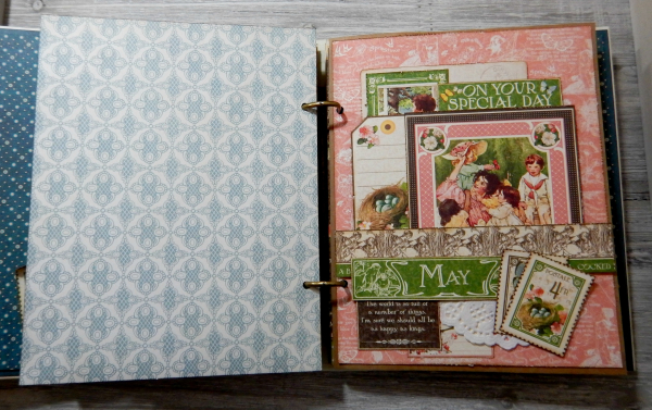 2017 Scrapbook Planner, Children's Hour, By Katelyn Grosart, Product By Graphic 45, Photo 35