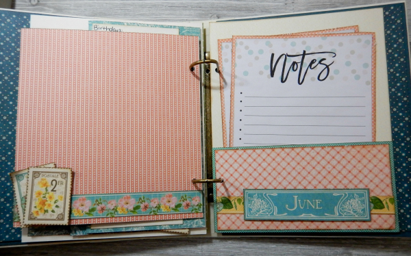 2017 Scrapbook Planner, Children's Hour, By Katelyn Grosart, Product By Graphic 45, Photo 48