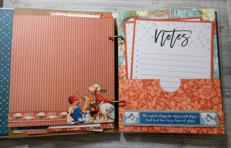 2017 Scrapbook Planner, Children's Hour, By Katelyn Grosart, Product By Graphic 45, Photo 55
