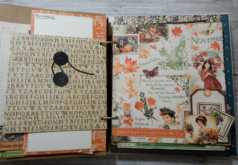 2017 Scrapbook Planner, Children's Hour, By Katelyn Grosart, Product By Graphic 45, Photo 82