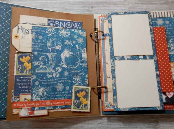 2017 Scrapbook Planner, Children's Hour, By Katelyn Grosart, Product By Graphic 45, Photo 9