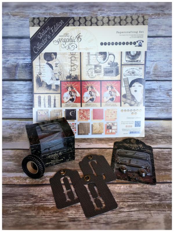 Communique Graphic 45 Prize Pack
