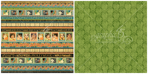 3 - Glitz and Glamour, a page from our new Graphic 45 collection, Vintage Hollywood!