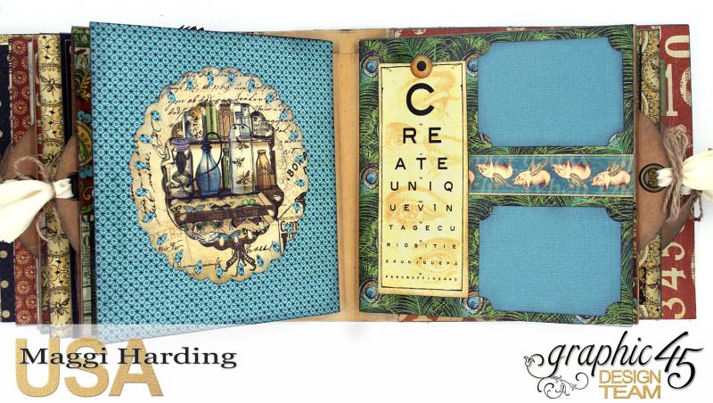 Sq Mini, Olde Curiosity Shoppe, Maggi Harding, Graphic 45 (6)