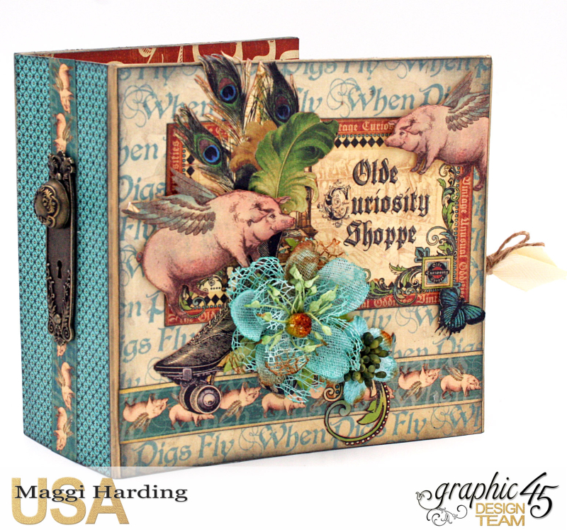 Sq Mini, Olde Curiosity Shoppe, Maggi Harding, Graphic 45 (1)