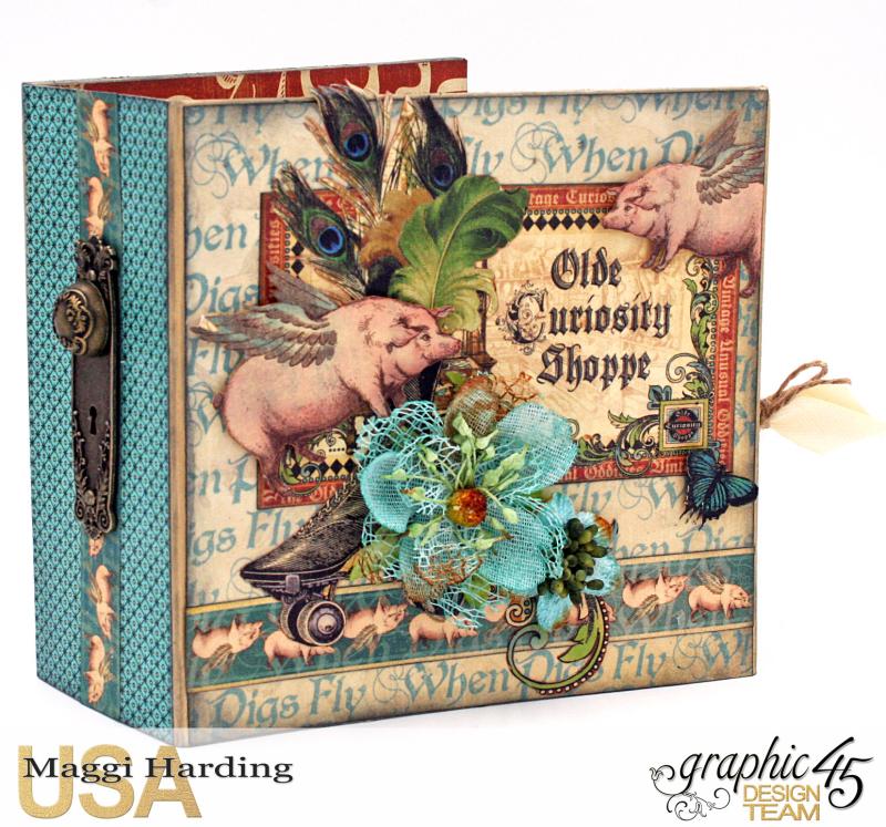Sq Mini, Olde Curiosity Shoppe, Maggi Harding, Graphic 45 (1)