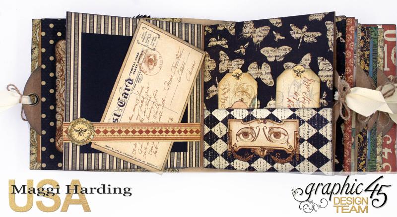 Sq Mini, Olde Curiosity Shoppe, Maggi Harding, Graphic 45 (5)