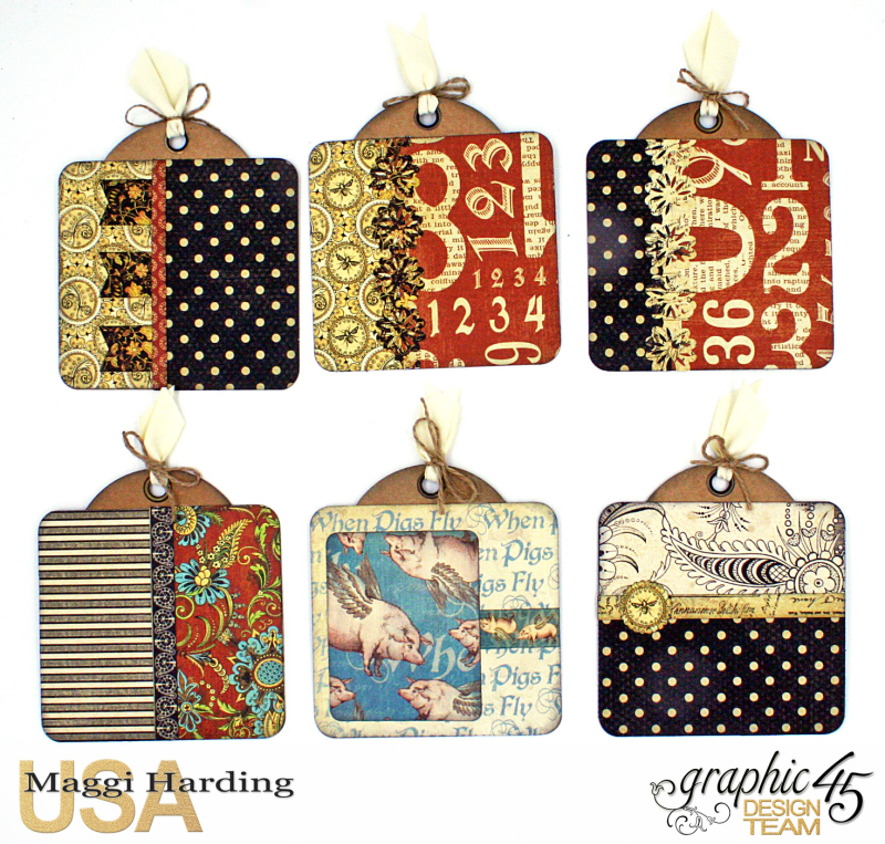 Sq Mini, Olde Curiosity Shoppe, Maggi Harding, Graphic 45 (8)