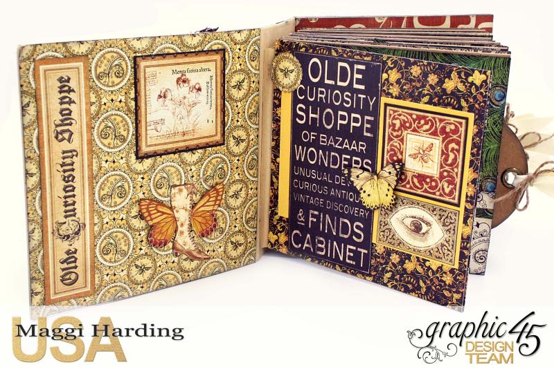 Sq Mini, Olde Curiosity Shoppe, Maggi Harding, Graphic 45 (4)