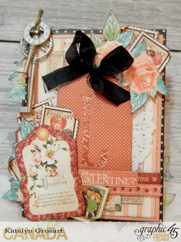 LOVE Mini Album, Cafe Parisian-Children's Hour & Place In Time DCE, By Katelyn Grosart, Product By Graphic 45, Photo 1