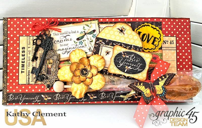 Love Sweet Love Policy Envelope Tutorial, Nature's Sketchbook, by Kathy Clement, Product by Graphic 45, Photo 1