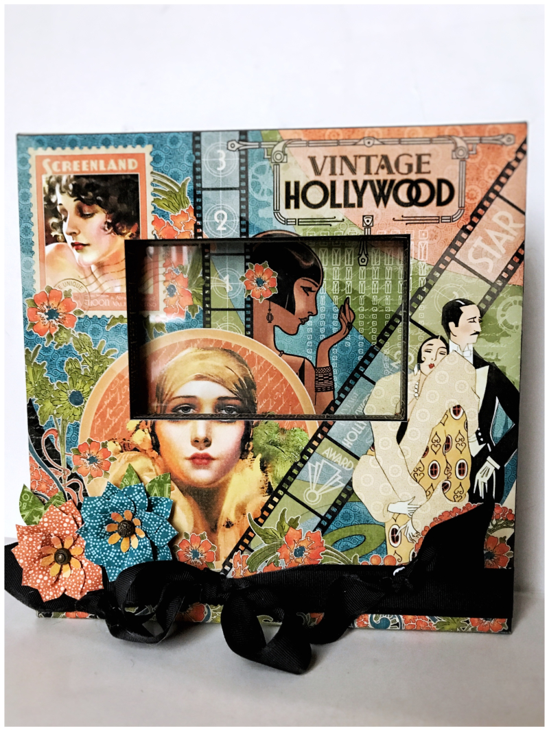 Vintage Hollywood Frame by Graphic 45