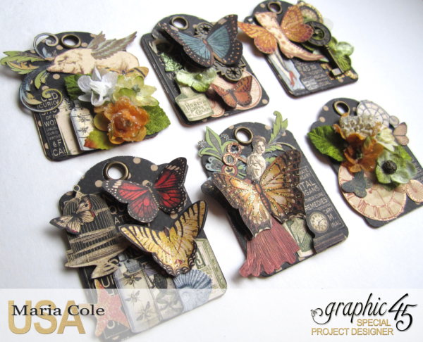 Olde Curiosity Shoppe ATCs from Maria Cole