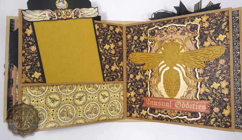 Olde Curiosity Shoppe Deep Square Matchbook Box & Square Tag Album by Annette Green-6