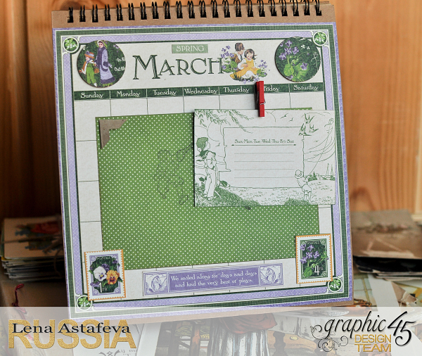 Calendar- Children's hour- by Lena Astafeva-products by Graphic 45 (6 из 26)