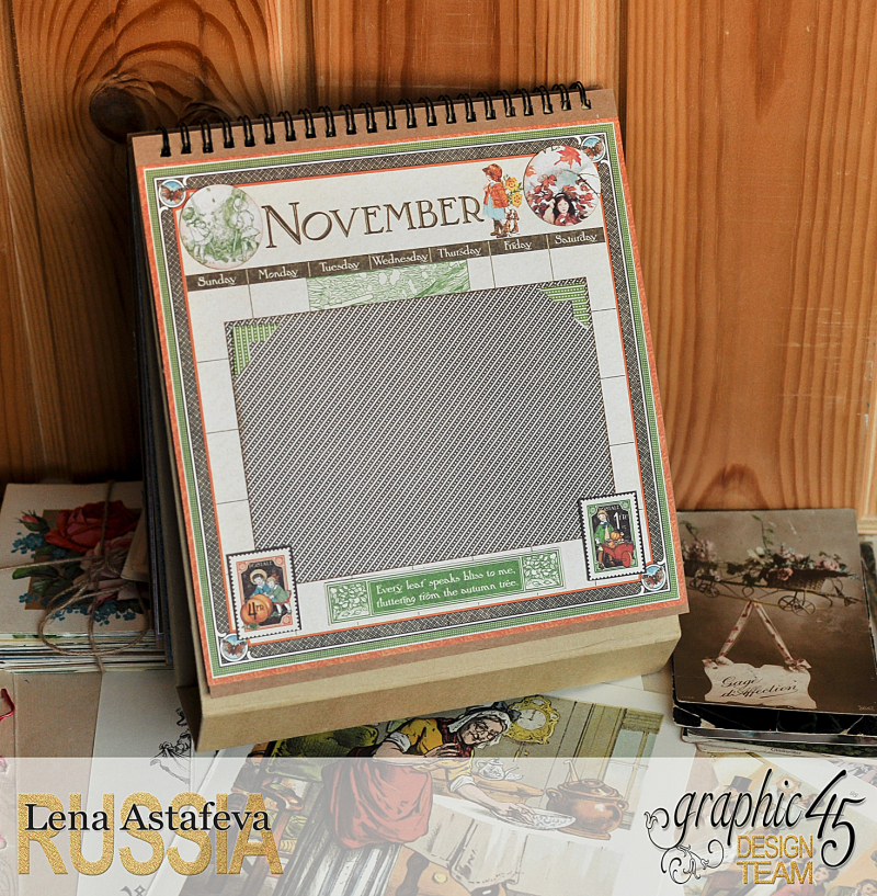 Calendar- Children's hour- by Lena Astafeva-products by Graphic 45 (24 из 26)