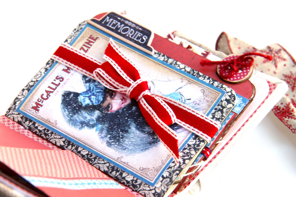 Winter-themed Diary Album Place in Time by Marina Blaukitchen Product by Graphic 45 photo 18