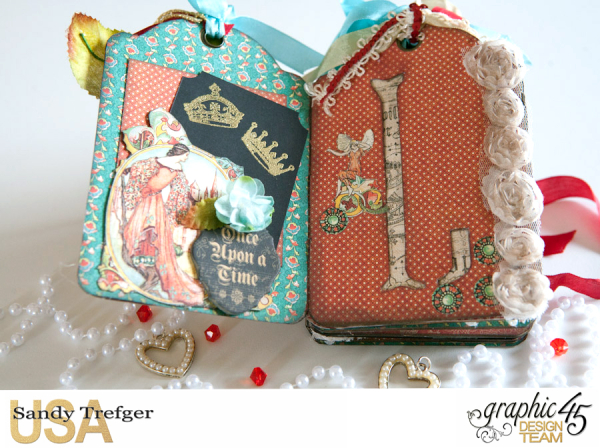 Love Tag Album, Enchanged Forest, Tutorial by Sandy Trefger, Product by Graphic 45, Photo 007