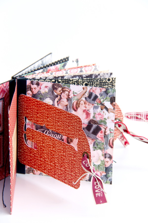 Love Album Policy Envelopes Tutorial by Marina Blaukitchen Product by Graphic 45 photo 7