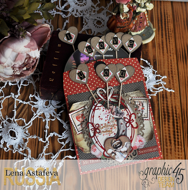 Envelope- Place in time- by Lena Astafeva-products by Graphic 45 (8 из 15)