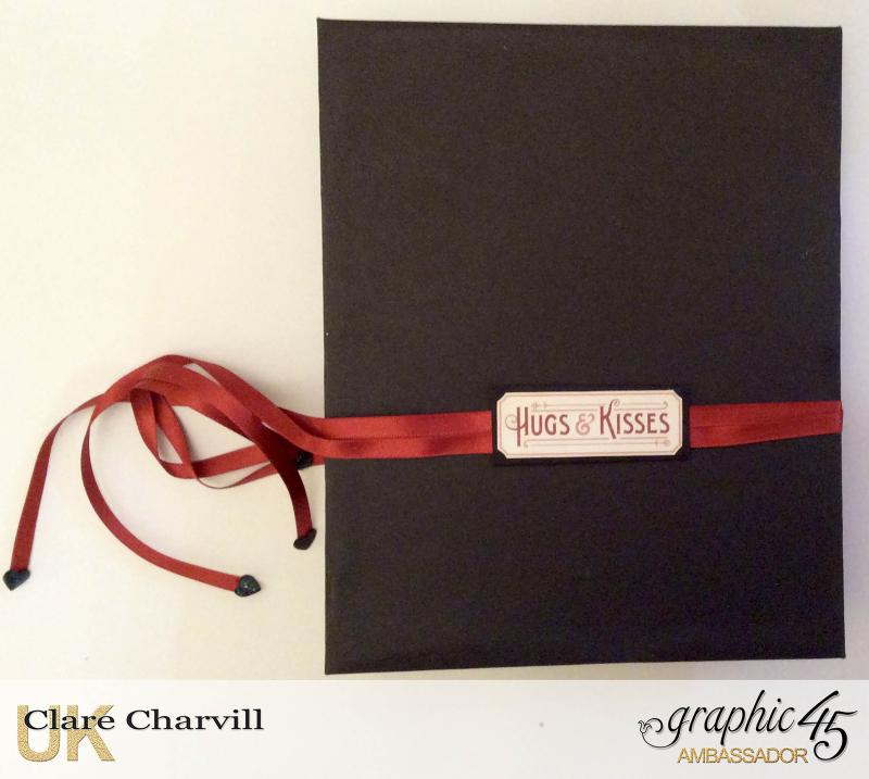 Vintage Valentine Album in a Box 11 Clare Charvill Graphic 45