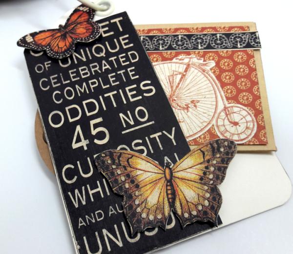 Tag Mini Album, Olde Curiosity Shoppe, by Einat Kessler, product Graphic 45, photo 1