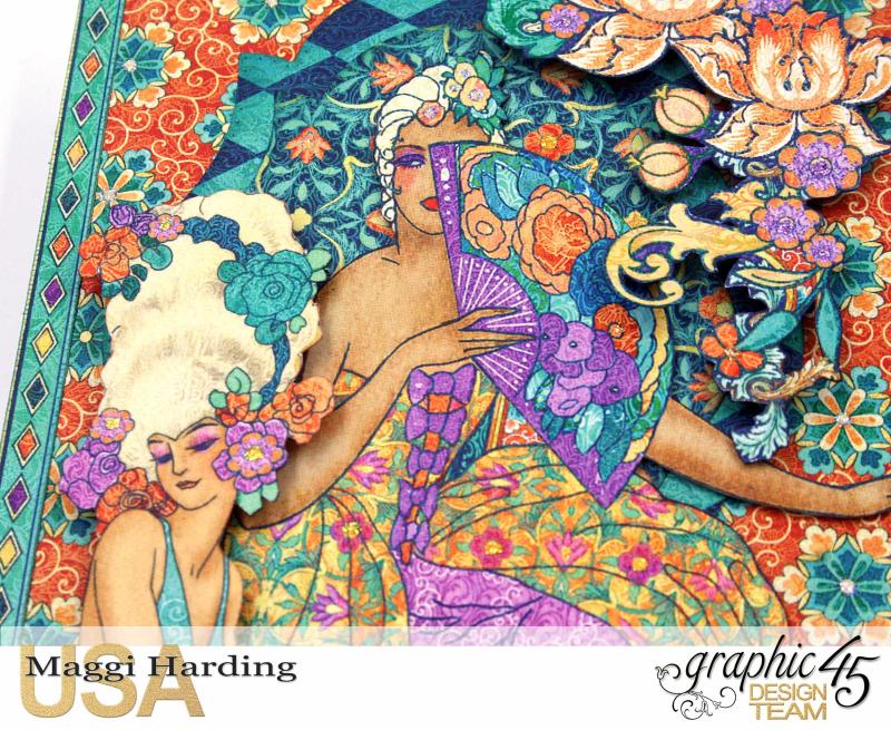 Canvas, Midnight Masquerade, Maggi Harding, Graphic 45 (5)