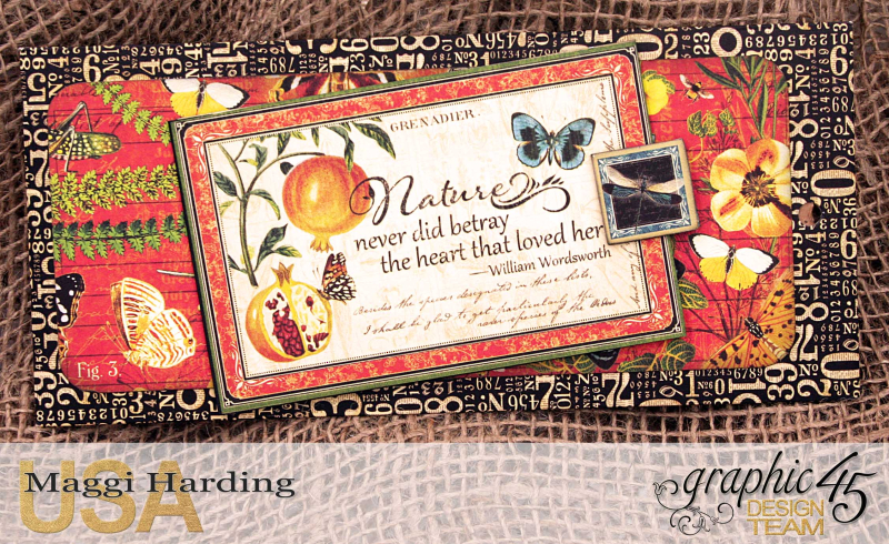 Tag mini, Nature Sketchbook, tutorial by Maggi Harding, Graphic 45 (15)